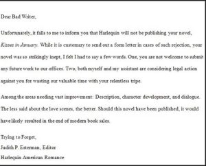 Book Rejection